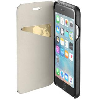 Husa Agenda Piele Negru APPLE iPhone 6, iPhone 6S