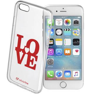 Husa Capac spate Love Case Transparent APPLE iPhone 6, iPhone 6S