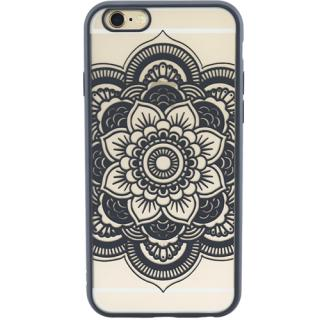 Husa Capac Spate Spirit Flower Negru APPLE iPhone 6, iPhone 6S