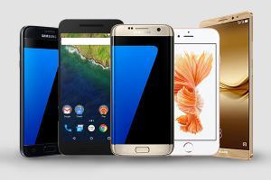 Top 5 cele mai performante smartphone-uri februarie 2017