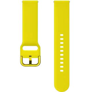 "<font color=""FF00CC"">Promotie!</font> Bratara Sport Silicon Pentru Galaxy Watch Active Galben thumbnail"