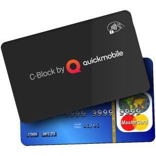 C-block Card Protectie Card Bancar Contactless Rfi