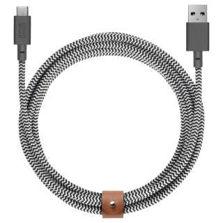 """<font color=""""FF00CC"""">Promotie!</font> Cablu Date Type C 3M Zebra thumbnail"""