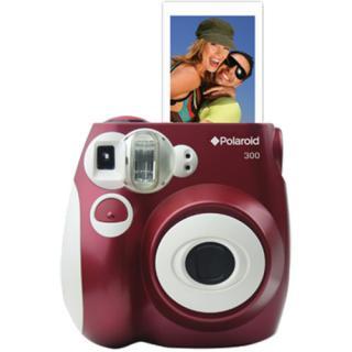 Camera Foto Instant Analog Pic300 Rosu