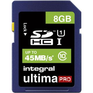 Card Memorie Sdhc Cl10 45mb/s 8gb