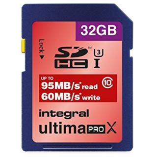 Card Memorie Sdhc Class 10 U-pro 95/60mb/s 32gb