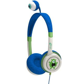 Casti Audio On Ear Little Rockers Costume Monster Albastru