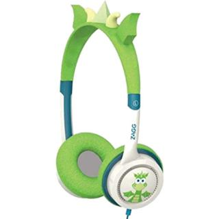 Casti Audio On Ear Little Rockers Dragon Verde