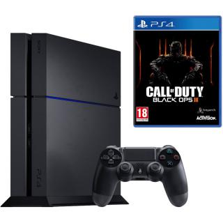 Consola Playstation 4 500gb   Joc Call Of Duty Black Ops Iii