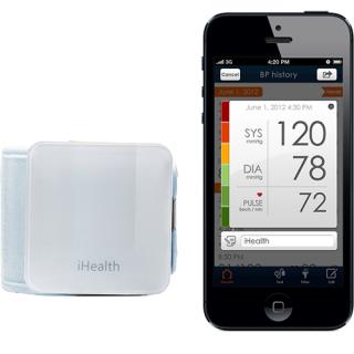 Wireless Dispozitiv Monitorizare A Tensiunii Arteriale Alb