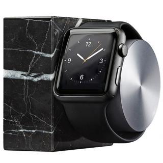Dock Luxury Tech Marble Pentru Apple Watch Negru