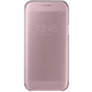 Husa Agenda Clear View Roz Samsung Galaxy A5 2017