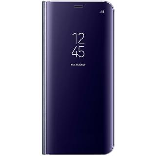 Husa Agenda Clear View Violet Samsung Galaxy S8 Pl