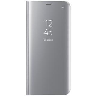 Husa Agenda Clear View Argintiu Samsung Galaxy S8
