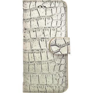 Husa Agenda Crocodile Wally Auriu Apple Iphone 6 P