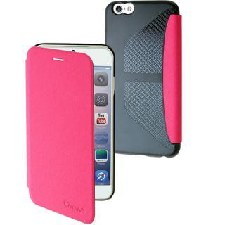 Husa Agenda Denim Roz Apple Iphone 6 Plus  Iphone