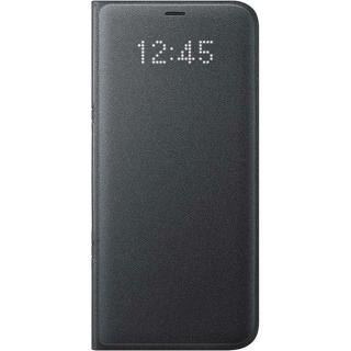 Husa Agenda Led View Negru Samsung Galaxy S8