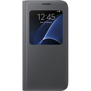 Husa Agenda S View Negru Samsung Galaxy S7