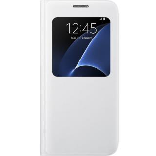 Husa Agenda S View Alb Samsung Galaxy S7