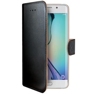 Husa Agenda Negru Samsung Galaxy S6 Edge