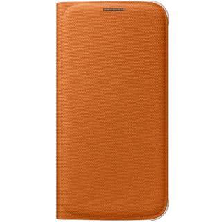 Husa Agenda Wallet Portocaliu Samsung Galaxy S6