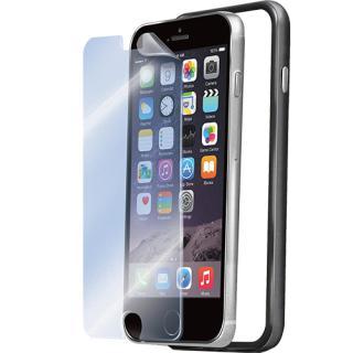 Husa Bumper  Folie Transparenta Negru Apple Iphone