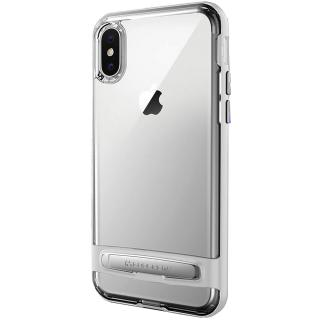 husa capac spate 0.33mm argintiu apple iphone x