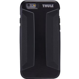 husa capac spate atmos x3 slim anti-shock negru apple iphone 6, iphone 6s