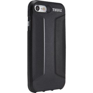 husa capac spate atmos x3 slim anti-shock negru apple iphone 7, iphone 8