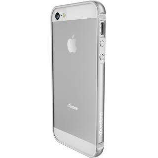 Husa Capac Spate Bump Gear Argintiu Apple Iphone 5