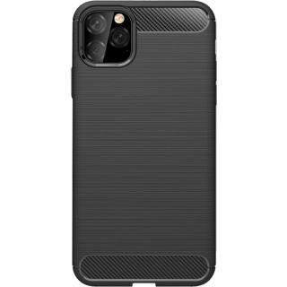 """<font color=""""FF00CC"""">Promotie!</font> Husa Capac Spate Carbon Case Negru APPLE iPhone 11 Pro thumbnail"""