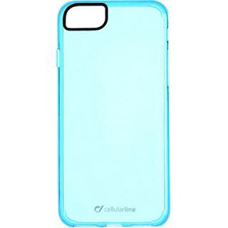 Husa Capac Spate Clear Color Albastru Apple iPhone 7