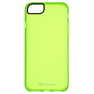 Husa Capac Spate Clear Color Verde Apple Iphone 7