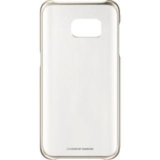 Husa Capac Spate Clear Auriu Samsung Galaxy S7