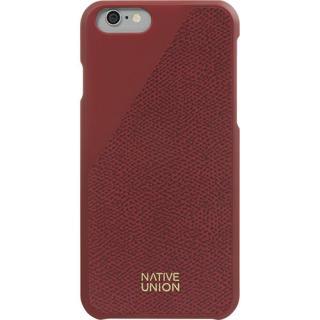 Husa Capac Spate Clic Piele Rosu Apple Iphone 6  I