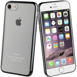 Husa Capac Spate Crystal Bump Negru Apple Iphone 7