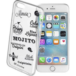 Husa Capac Spate Drink Case Transparent Apple Ipho