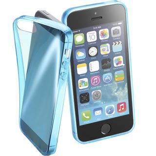 Husa Capac Spate FLUO Albastru APPLE iPhone SE