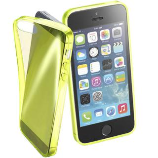 Husa Capac Spate Fluo Galben Apple Iphone Se
