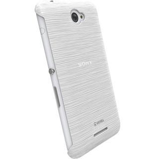 Husa Capac Spate Frost Mfx Alb Sony Xperia E4