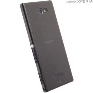 Husa Capac Spate Frost Mfx Negru Sony Xperia M2