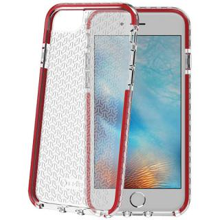 Husa Capac Spate Hexagon Rosu Apple Iphone 7