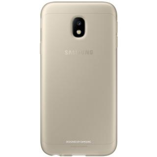 Husa Capac Spate Jelly Auriu Samsung Galaxy J3 201