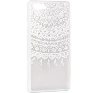 Husa Capac Spate Lace Design 1 Alb Huawei P10 Lite