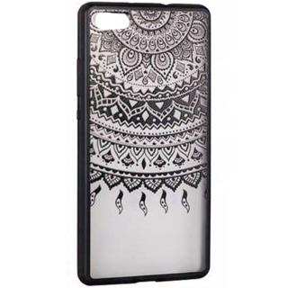 Husa Capac Spate Lace Design 1 Negru Apple Iphone