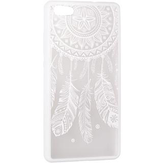 Husa Capac Spate Lace Design 3 Alb Apple Iphone 5