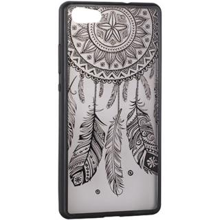 Husa Capac Spate Lace Design 3 Negru Apple Iphone