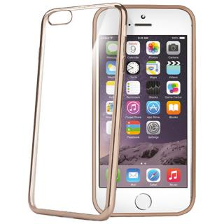 Husa Capac Spate Laser Auriu Apple Iphone 6 Plus
