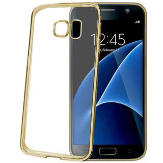 Husa Capac Spate Laser Auriu Samsung Galaxy S7