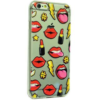 Husa Capac Spate Lips Apple Iphone 6  Iphone 6s